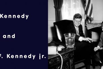 John F. Kennedy and Robert F. Kennedy jr