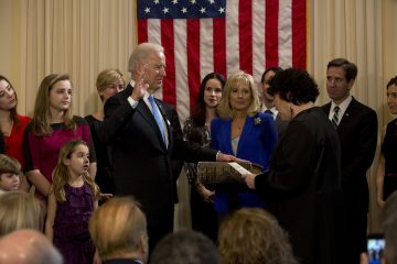 Joe Biden sworn in as Vice President 2013