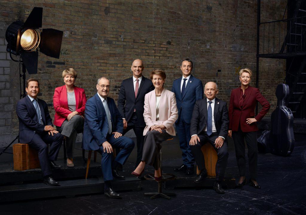 Bundesrats-Foto 2020